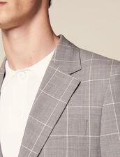 Classic Super 120 Suit Jacket : LastChance-FR-H60 color Light Grey