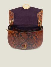 Pépita Bag : New In color PYTHON CAMEL