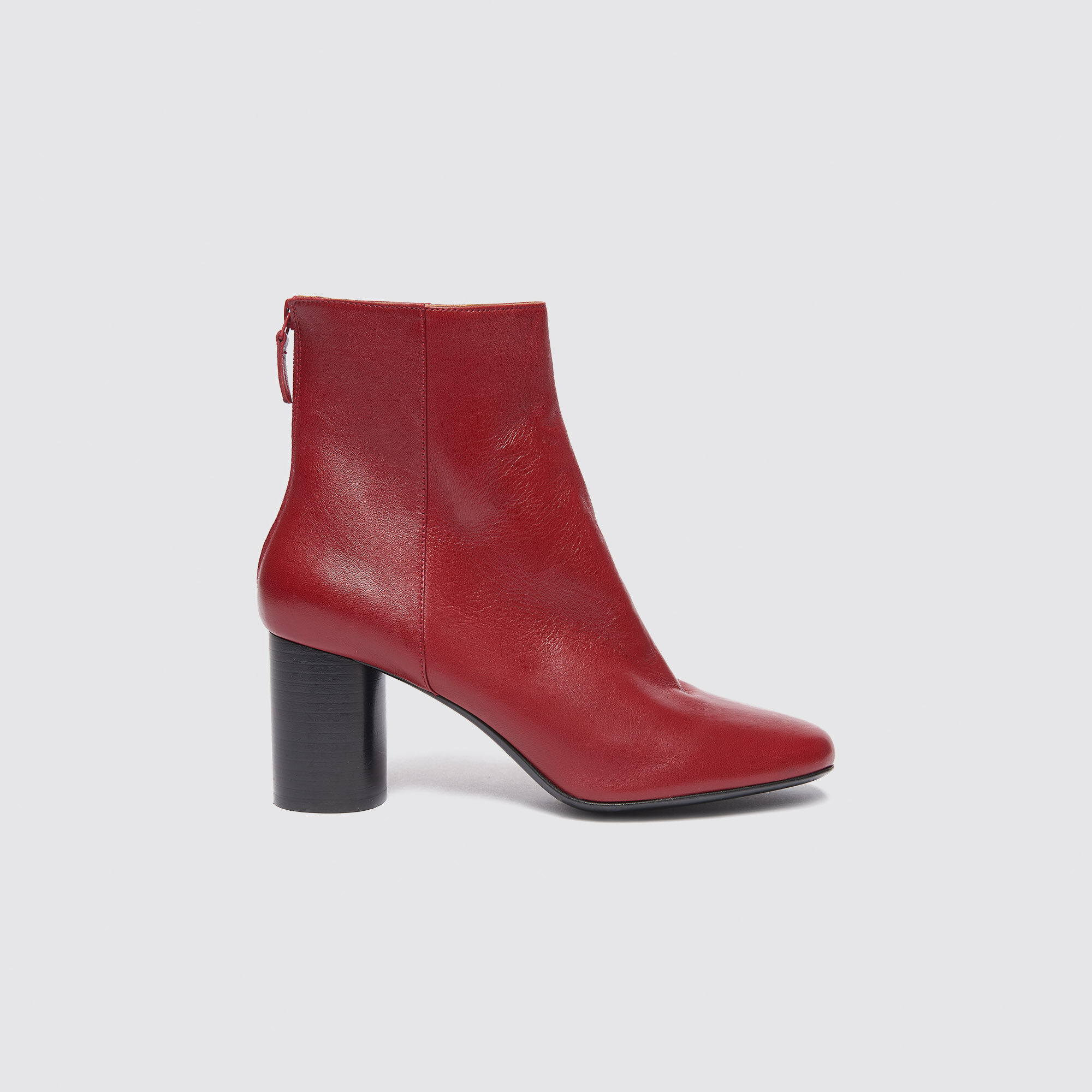 Ch1371h Sandro Ankle Boots Leather Paris 8q4ExF