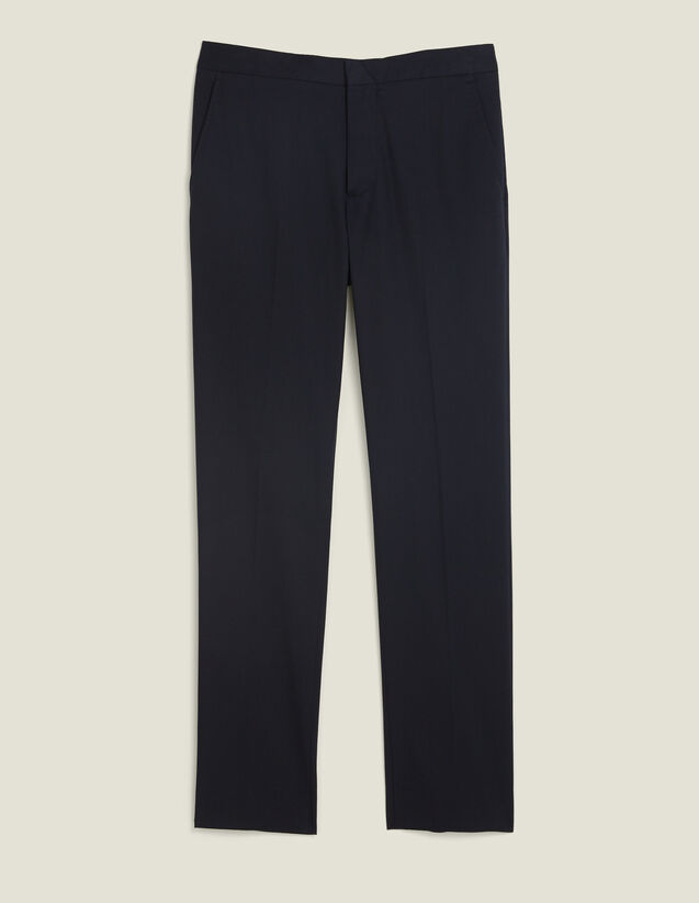 Fitted Chinos : Sélection Last Chance color Navy Blue