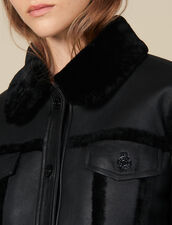 Sheepskin Jacket : Blazers & Jackets color Black