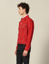 Denim Canvas Jacket : SOLDES-CH-HSelection-PAP&ACCESS-2DEM color Black