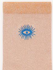 Lurex socks : Socks color Orange