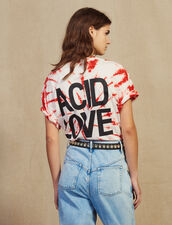Tie-Dye T-Shirt : null color Red
