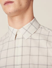 Fine Cotton Shirt : Sélection Last Chance color Ecru