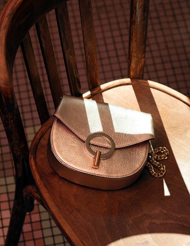 Pépita Bag, Small Model : Summer Collection color Gold