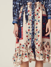 Shirt Dress In A Mixture Of Prints : Dresses color Multi-Color