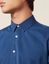 Faded Chambray Casual Shirt : Shirts color Blue Vintage - Denim