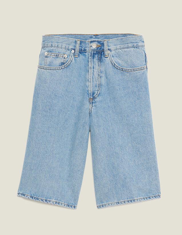 Denim Bermuda Shorts : Pants & Shorts color Blue Vintage - Denim