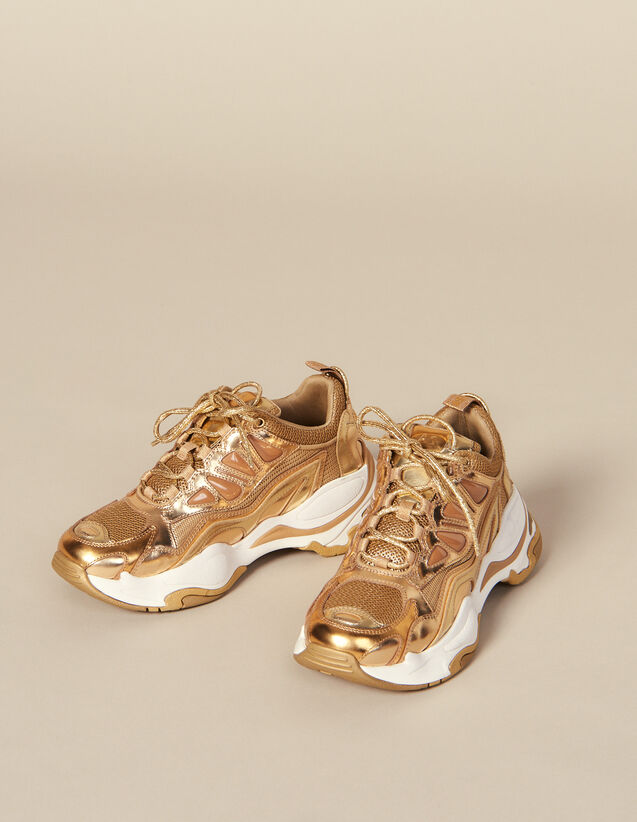 Astro Trainers : All Shoes color Full Gold