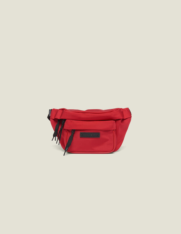 Cross-Body Banana Bag : SOLDES-CH-HSelection-PAP&ACCESS-2DEM color Red