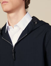 Hooded jacket : All Winter collection color Charcoal Grey