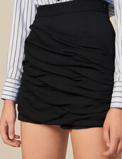 Shorts With Draped Details : FBlackFriday-FR-FSelection-30 color Black