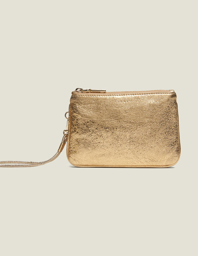 Addict pouch : All Winter collection color Full Gold