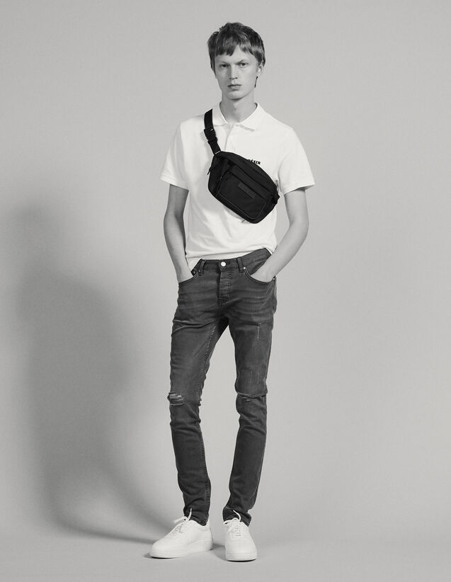 Destroyed Jeans - Skinny Cut : Sélection Last Chance color Grey