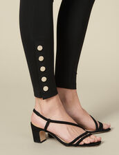 Leggings With Press Studs : FBlackFriday-FR-FSelection-30 color Black