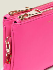 Mini Addict Pouch With Wrist Strap : null color Pink
