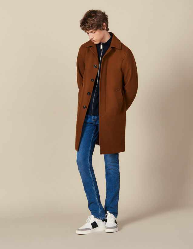 Oversized Town Coat : Trench coats & Coats color Camel