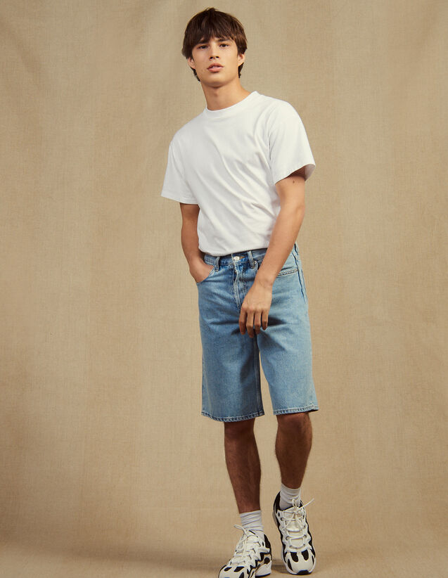 Denim Bermuda Shorts : Pants & Shorts color Blue Vintage - Denim