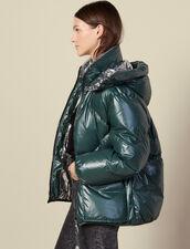 Reversible Padded Jacket : LastChance-ES-F50 color Bottle Green