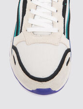 Flame trainers : All Shoes color Purple
