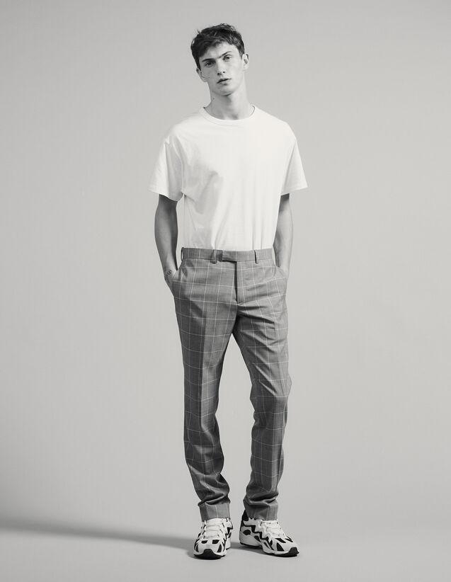 Classic Super 120 Suit Trousers : LastChance-FR-H60 color Light Grey