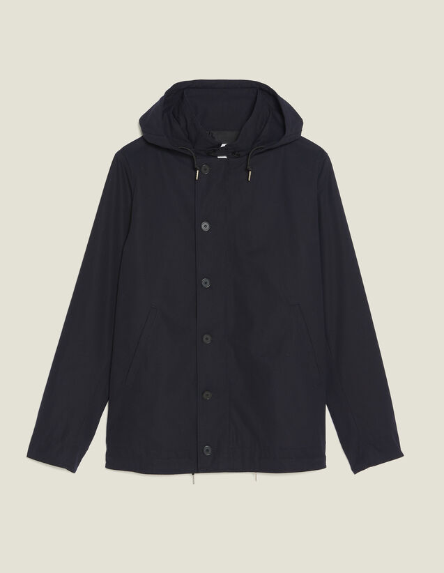 Cotton Deckjacket : All selection color Navy Blue