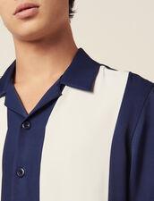 Floaty Short-Sleeved Shirt : Sélection Last Chance color Blue