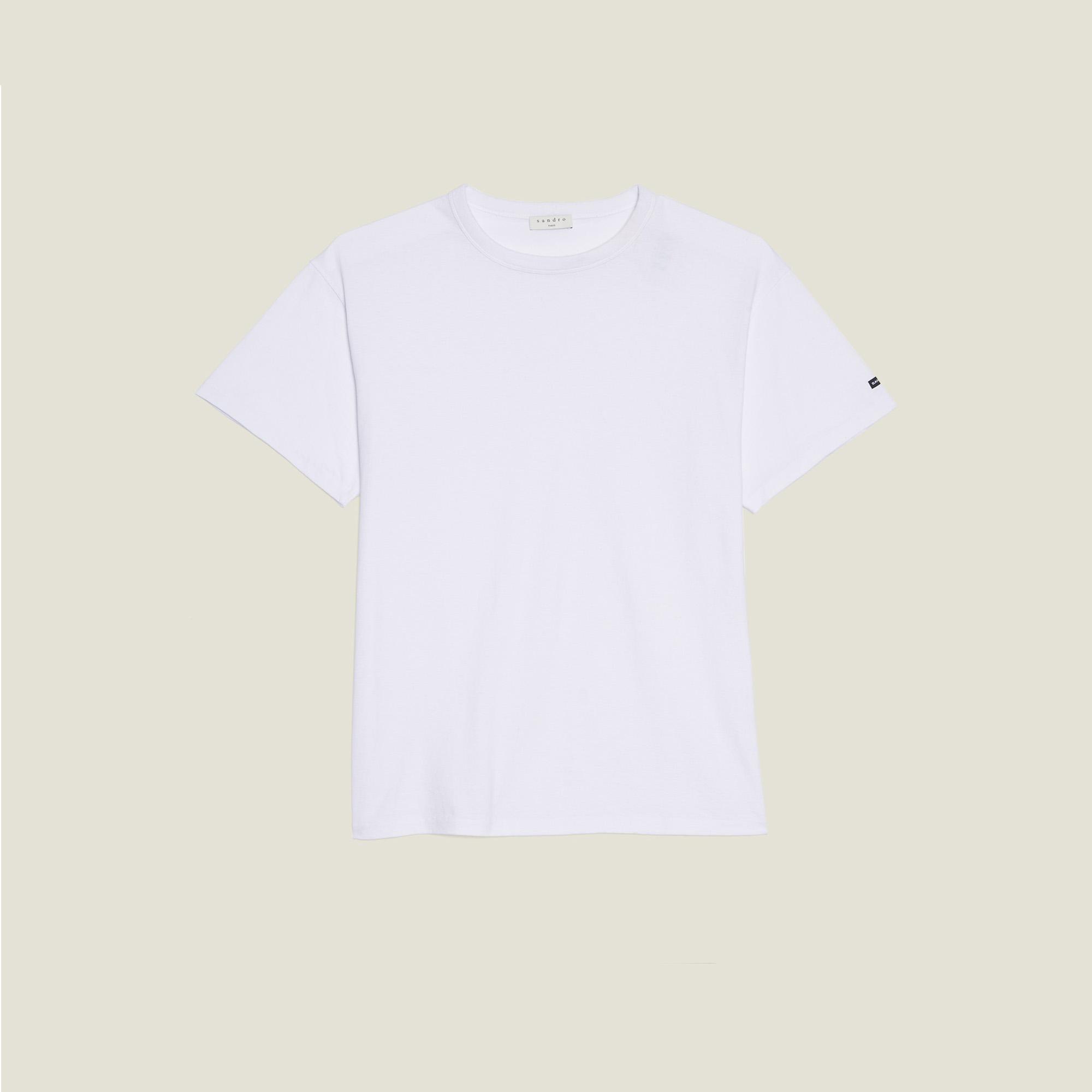 7c3f78defa388c ... Cotton Oversized T-Shirt : T-shirts & Polo shirts color white