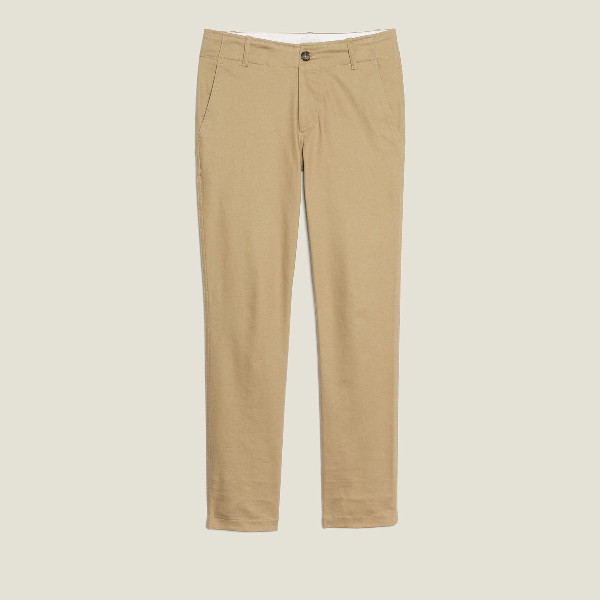 comment chercher En liquidation meilleur prix Straight-Leg Chino Trousers