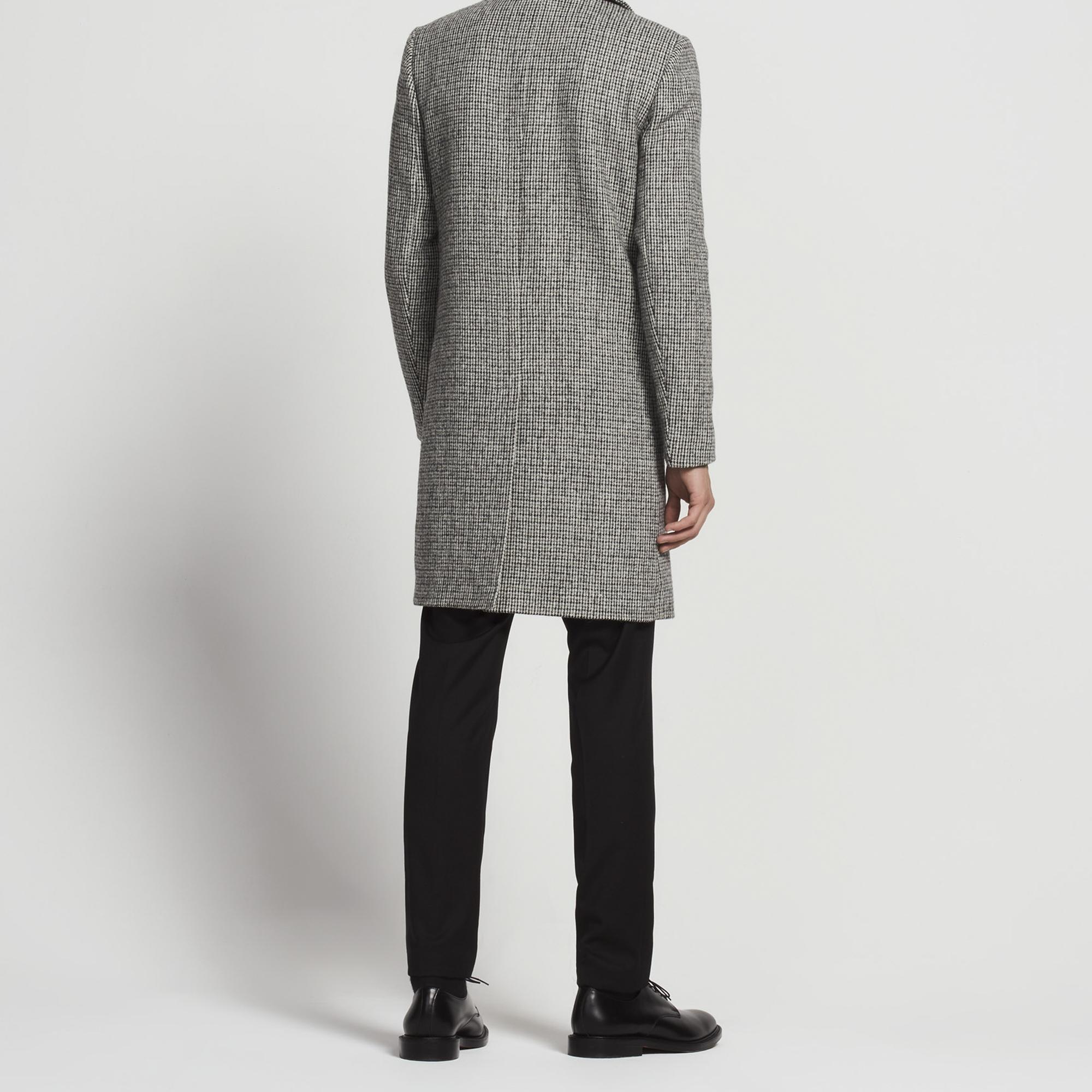 Long Harris Tweed coat - Trench coats & Coats - Sandro-paris.com