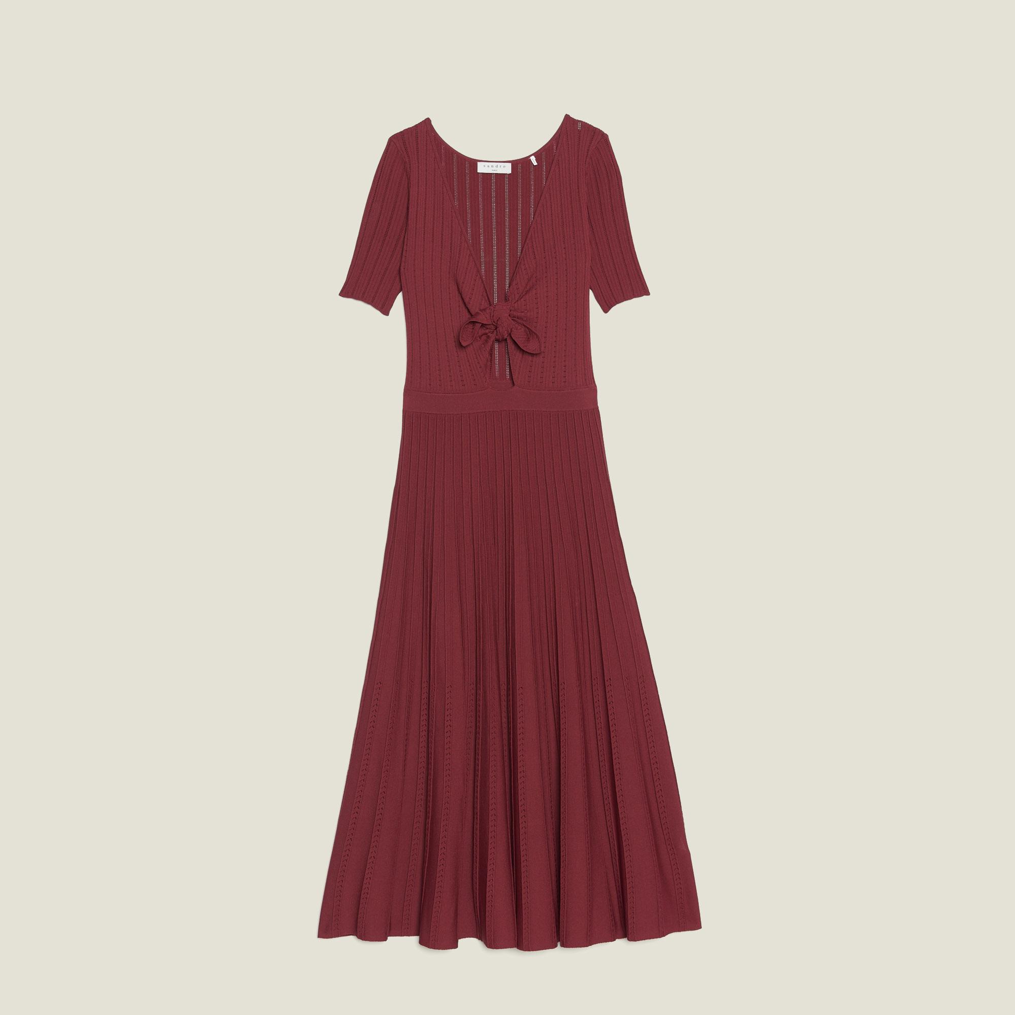 5c41481bd0c ... Openwork Knit Midi Dress   Dresses color Land of Fire