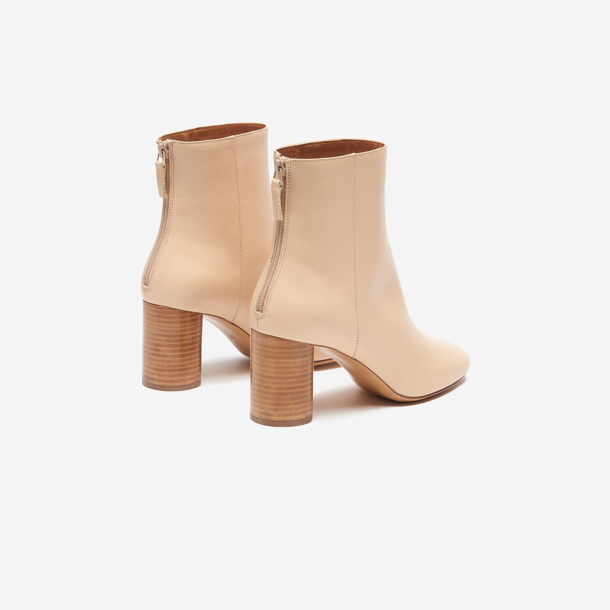 beau lustre dernière conception personnalisé Leather Ankle Boots