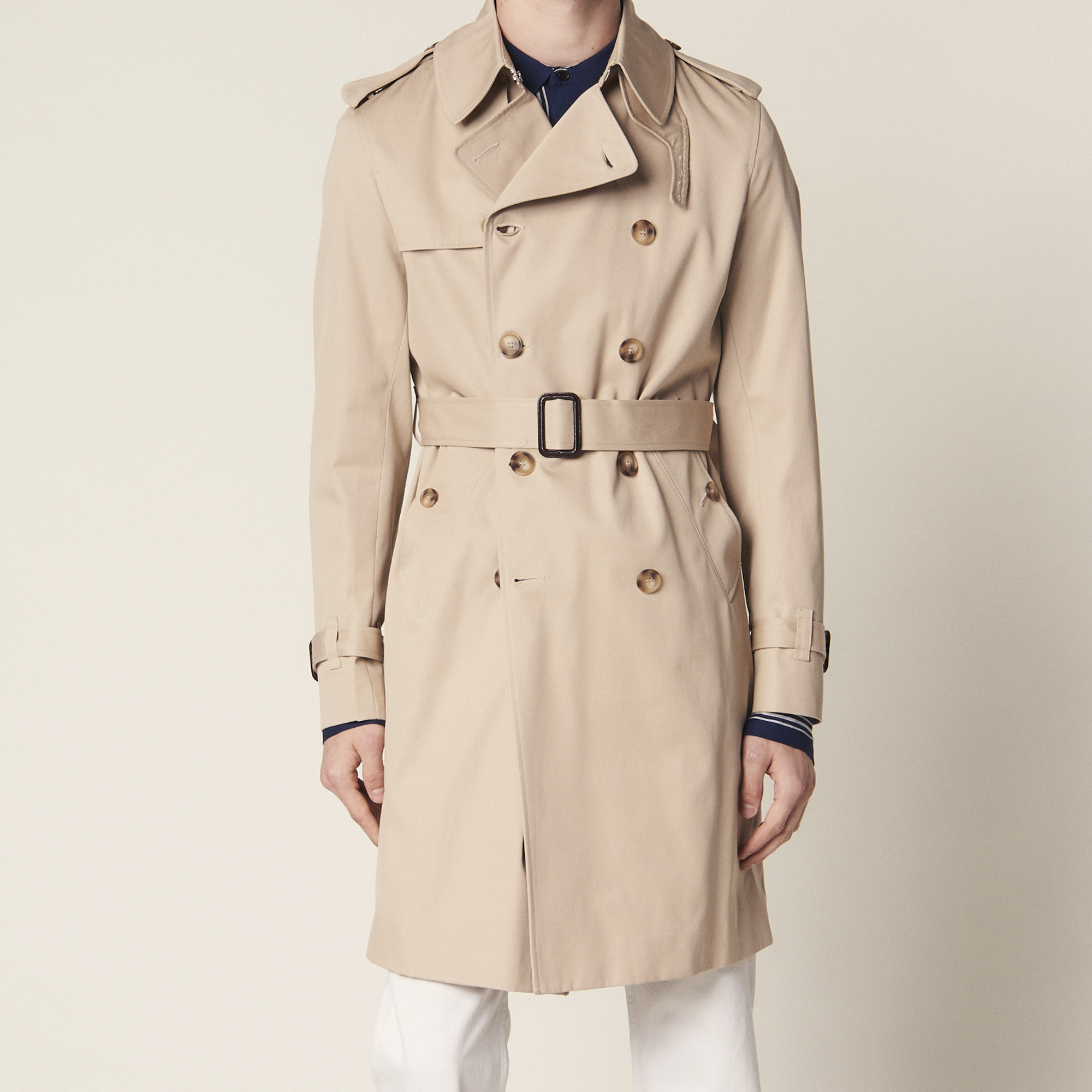 sports shoes f9a6b 8a2b0 Belted Trench Coat