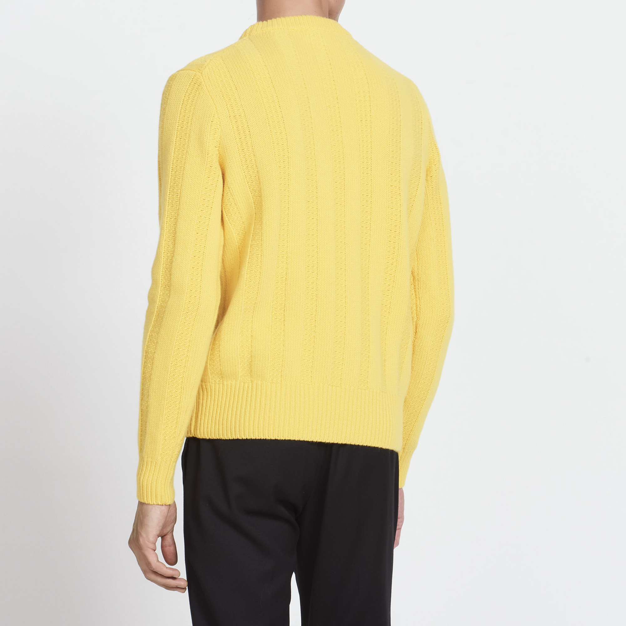 Round neck thick knit sweater - Sweaters & Cardigans - Sandro ...