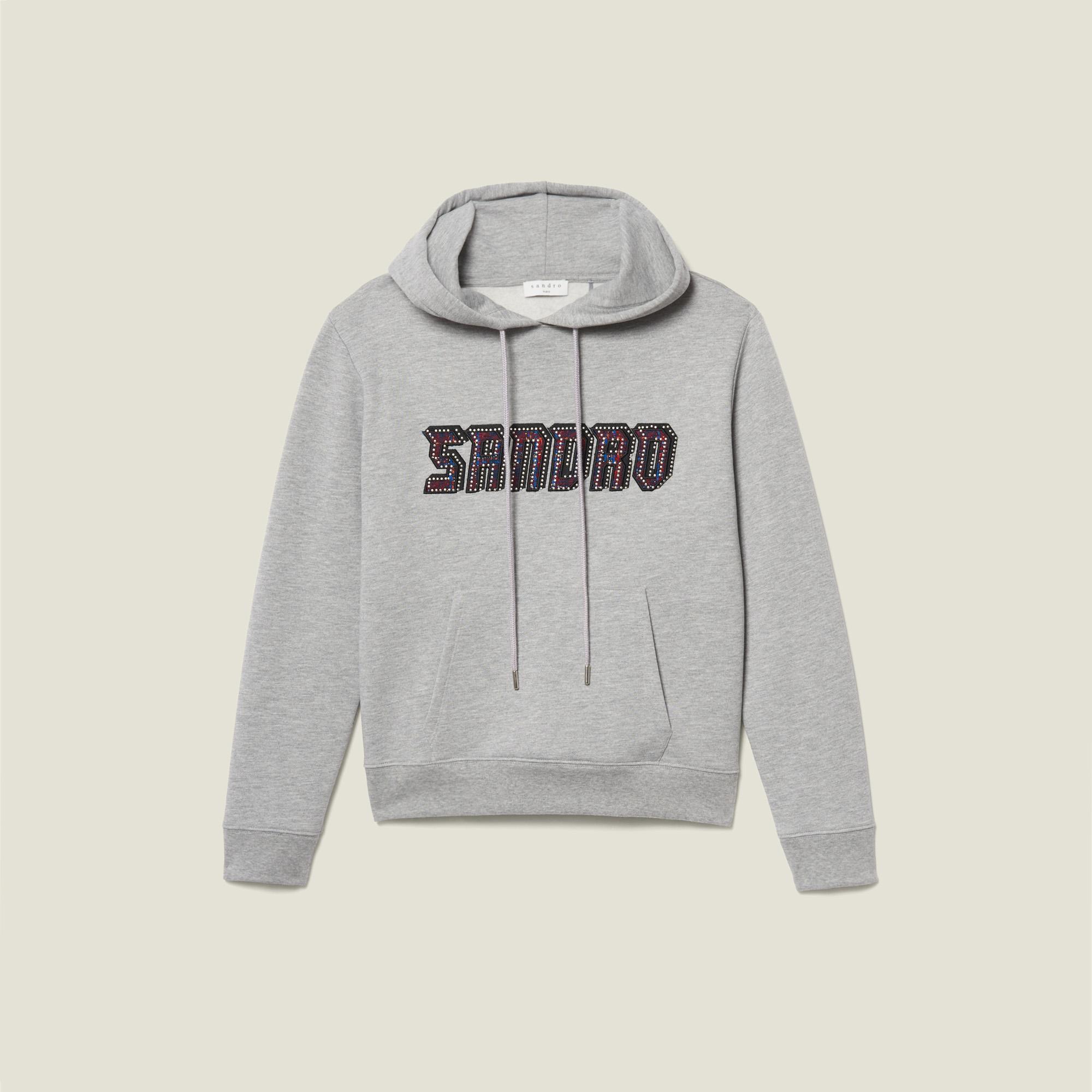 Sweatshirt With Sandro Lettering
