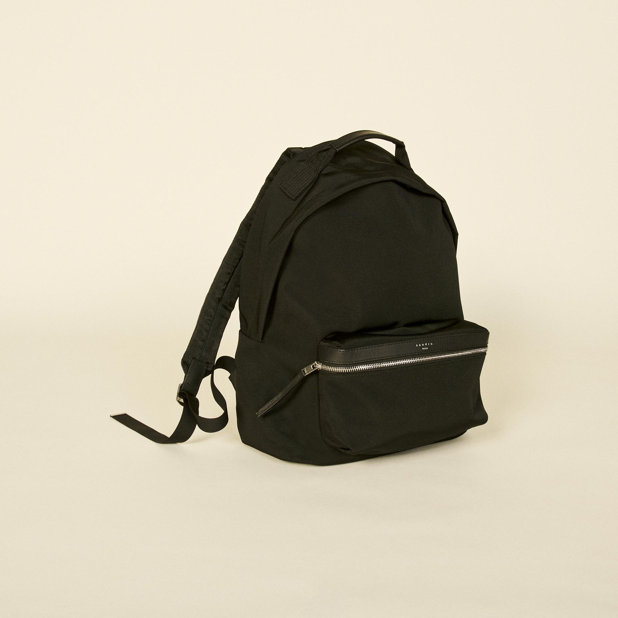 Technical material backpack - Sandro - Modalova
