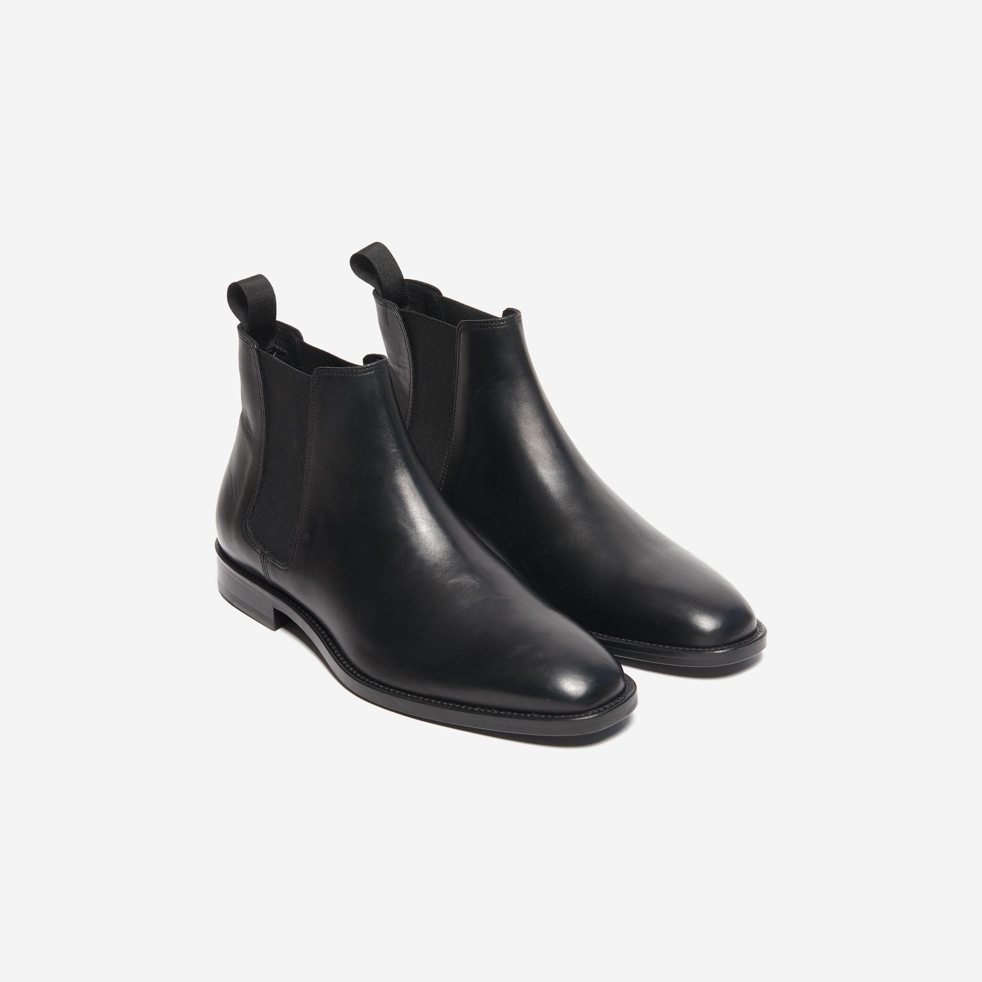 e82c4df398e Leather Chelsea ankle boots