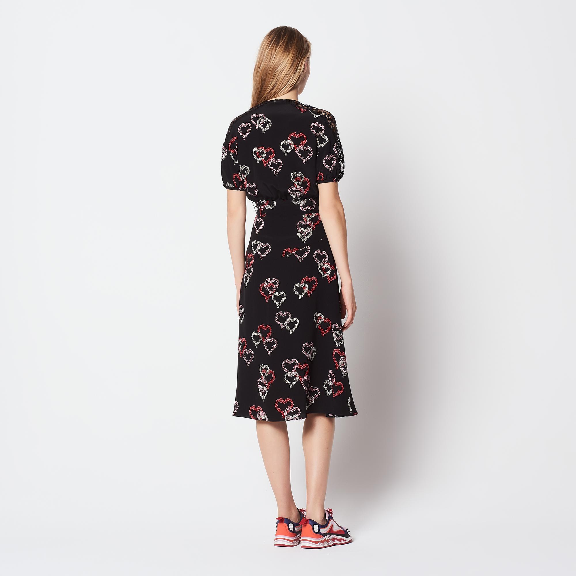 Lace Silk Dresses